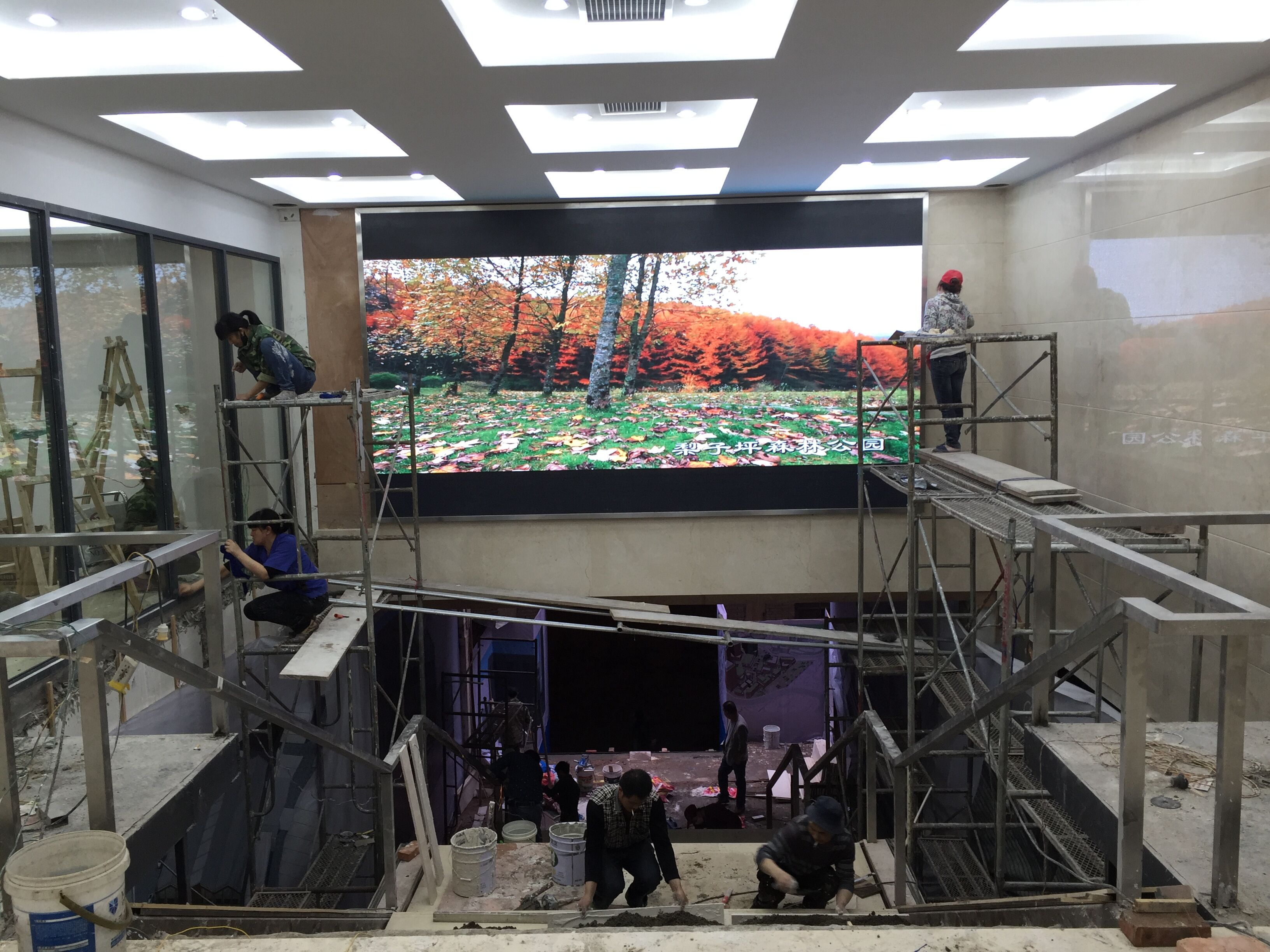 重庆版权交易中心P4全彩15平米