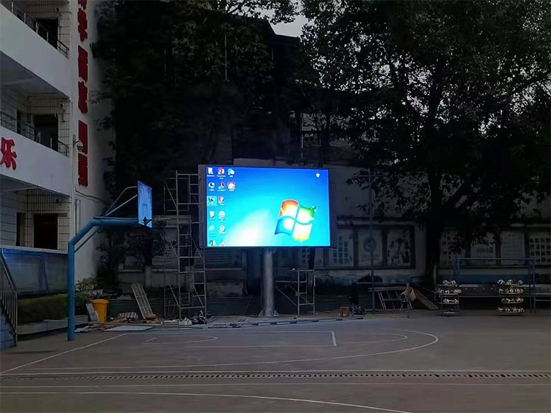 石柱某学校户外Q5   17平米